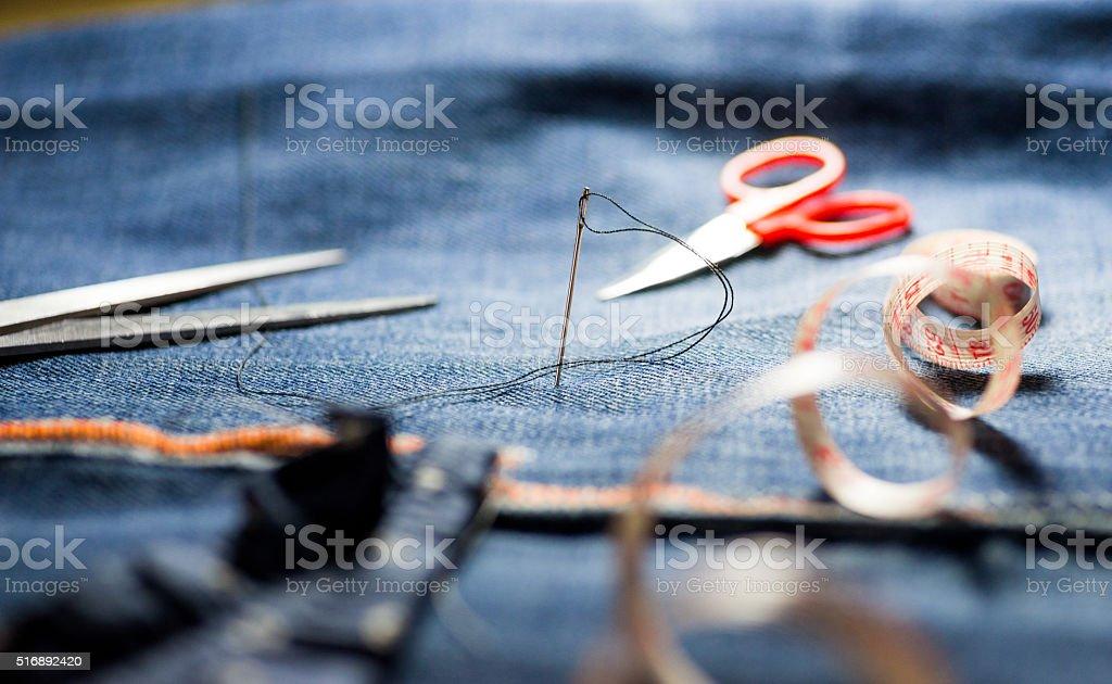 Outils de couture - Photo