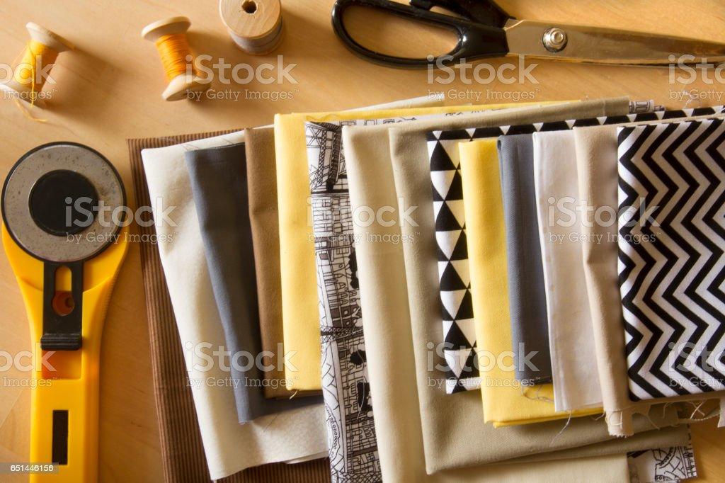 Sewing tools стоковое фото