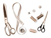 istock Sewing Tools 910494020