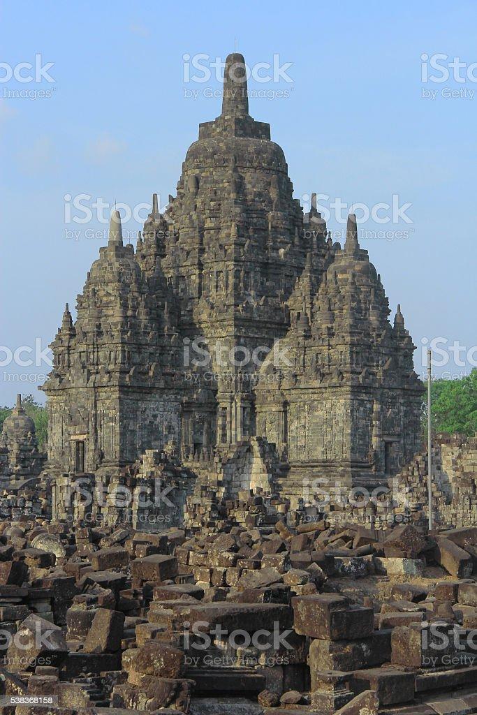 Sewu Temple of Prambanan Temple Compounds stock photo