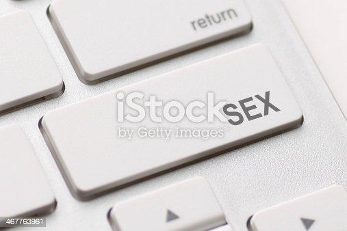 istock Sex button on keyboard 467763961