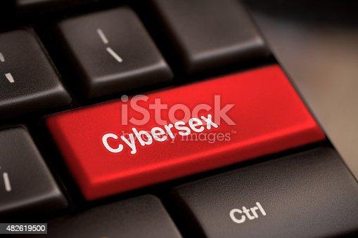 istock Sex button on keyboard 482619500