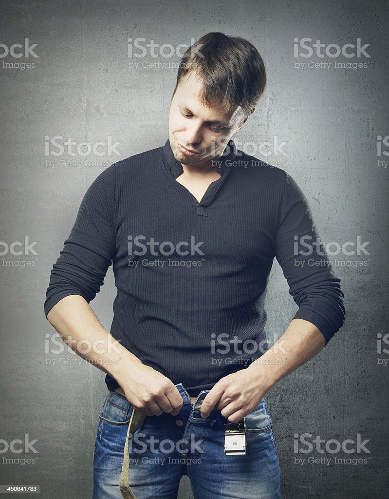 Sex length royalty-free stock photo