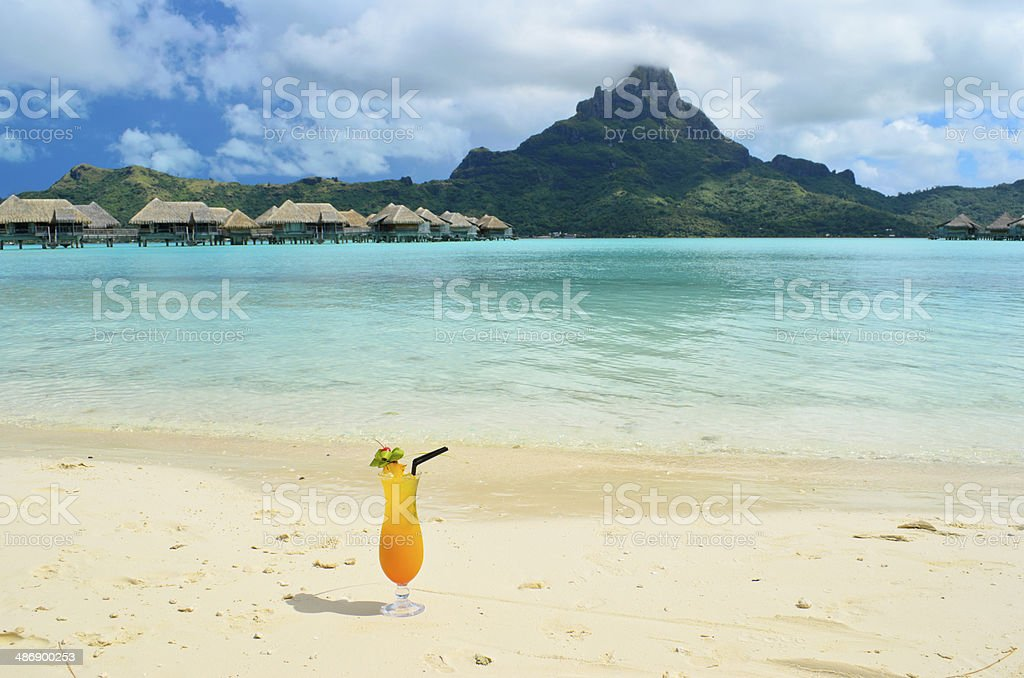 Sex on the beach stock photo