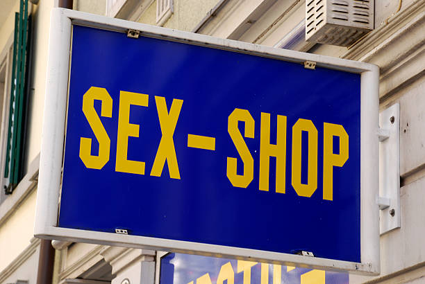sex shop - england stock photos and pictures