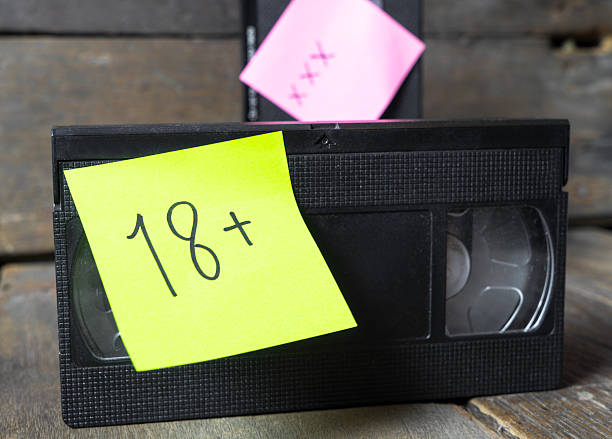sex video tape 18+ xxx - number 18 stock photos and pictures