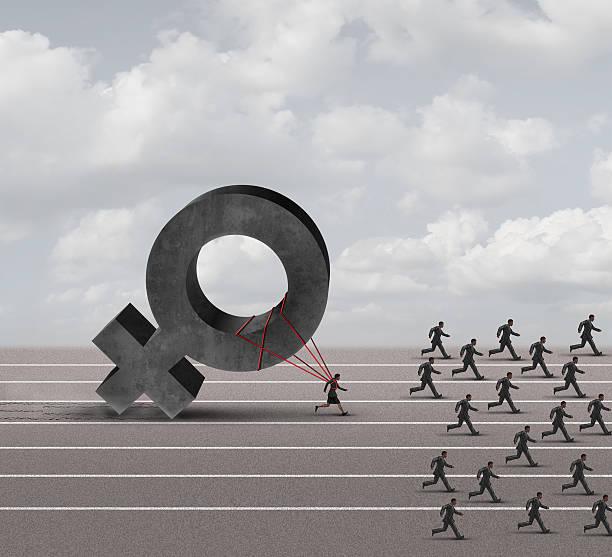 Sexismus erreichen Diskriminierung – Foto