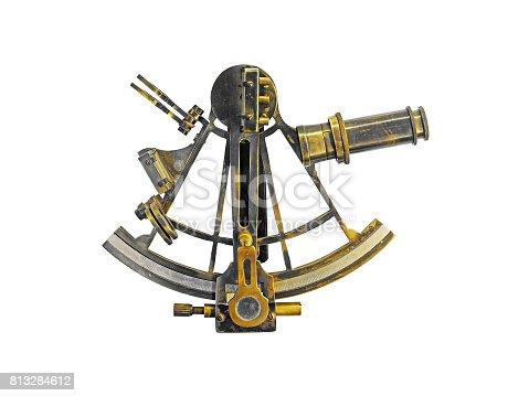 istock Sextant Astrolabe 813284612