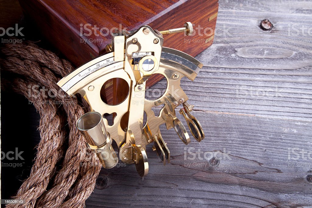 Sextant royalty-free stock photo