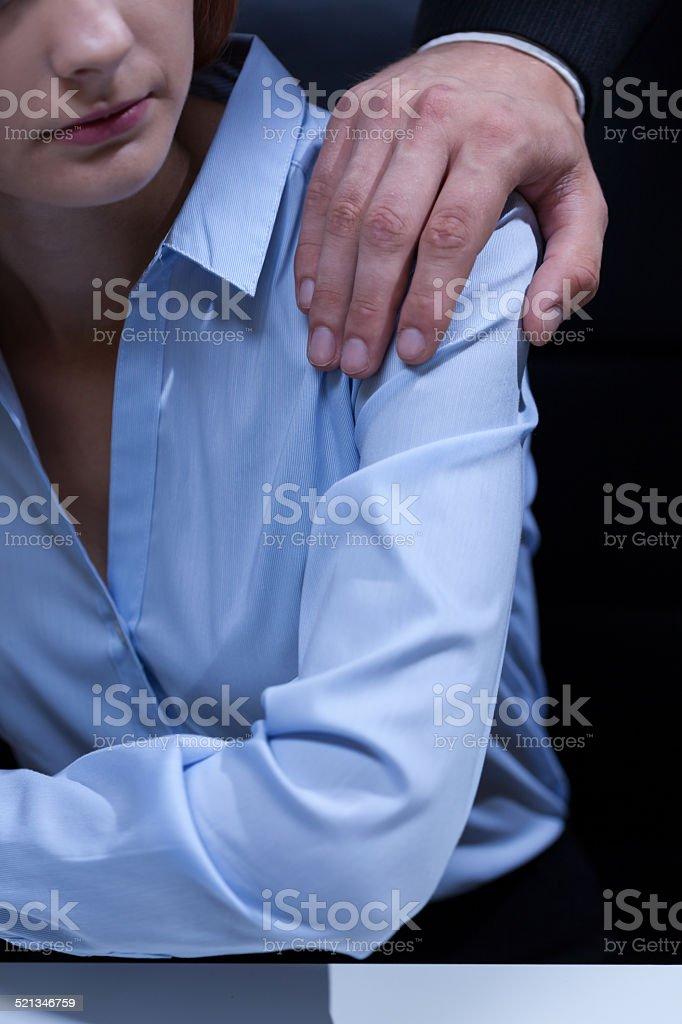 性的いじめ - いじめのストック...
