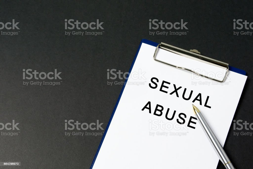 Sexual Harassment Conceptual Image royalty-free stock photo