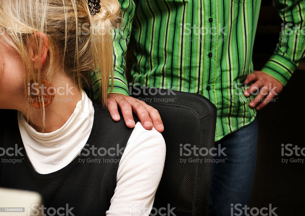 Sexual harassment #2 stock photo