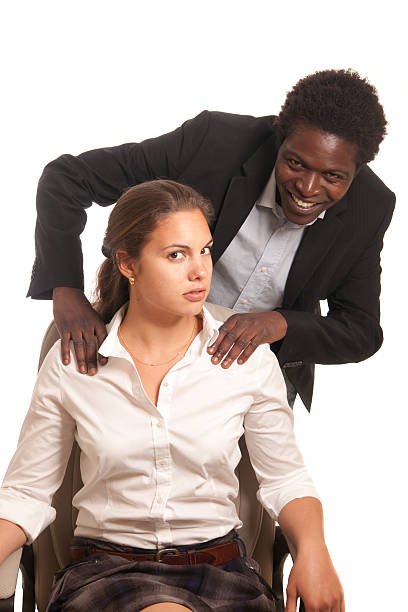 Black Men And White Women Having Sex Stock Photos