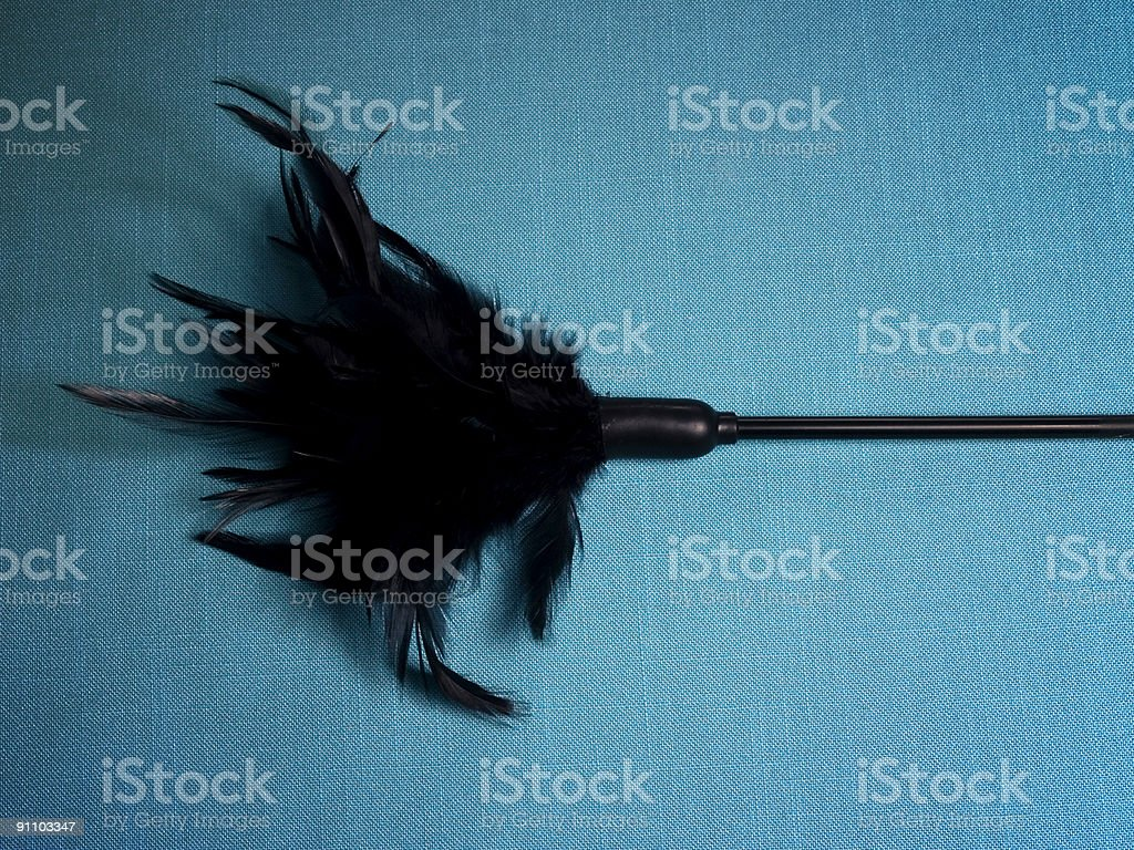 Sexual Tickler royalty-free stock photo
