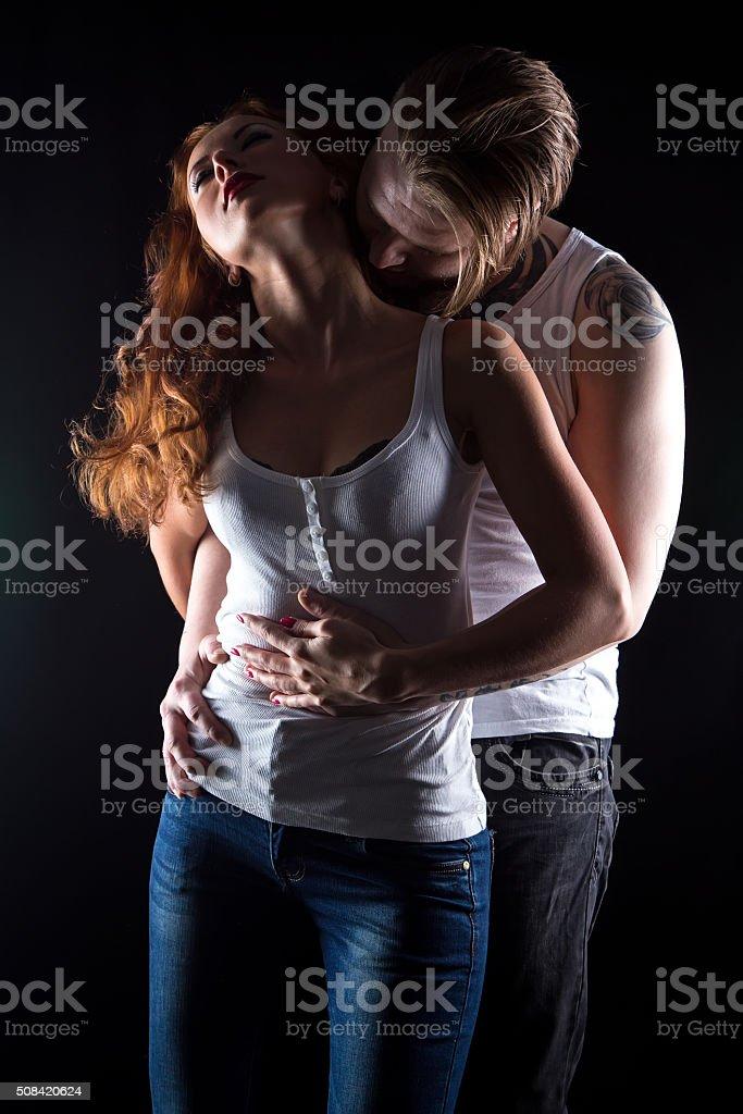 Black men making love
