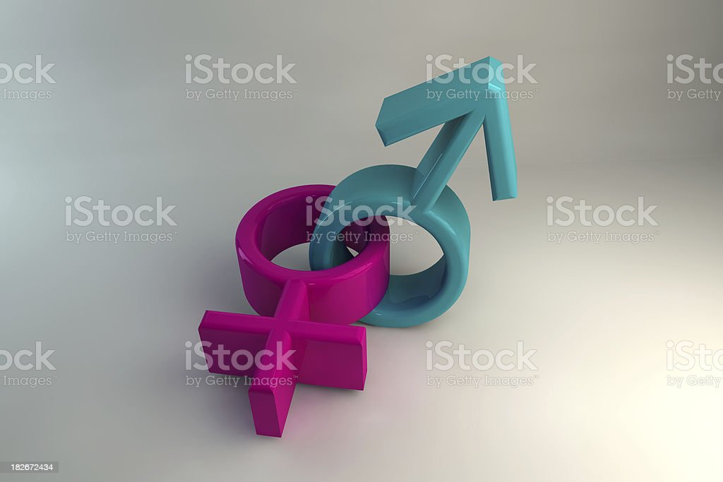 Sexuality & Gender - Heterosexual royalty-free stock photo