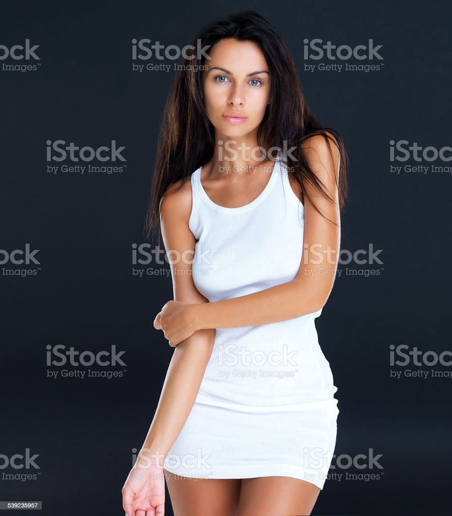 Sensual y cómoda foto de stock libre de derechos