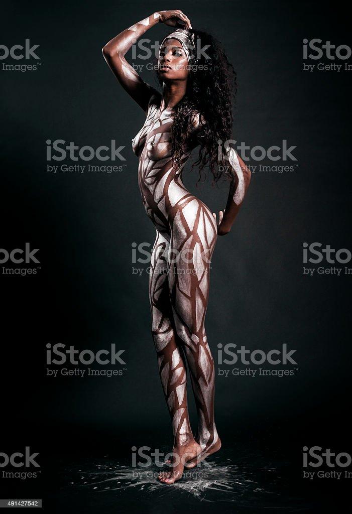 sexy nudo africano