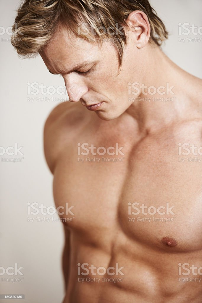 Sexy and serene royalty-free stock photo