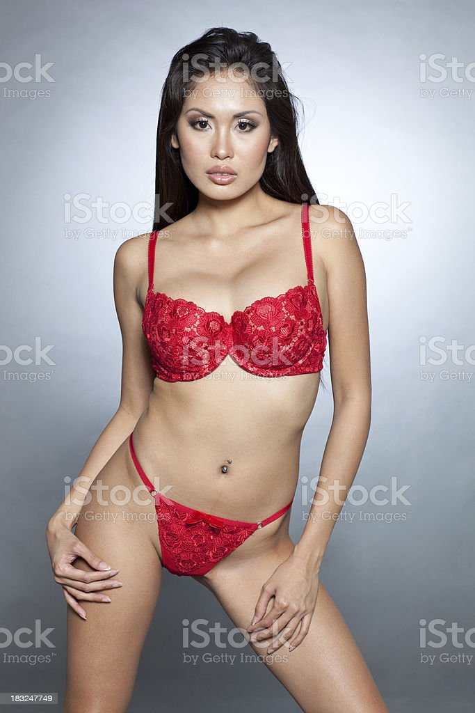 Sexy Asian Lingerie Model Stock Photo Amp More Pictures Of