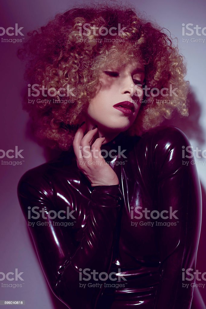 sexy attitude stock photo
