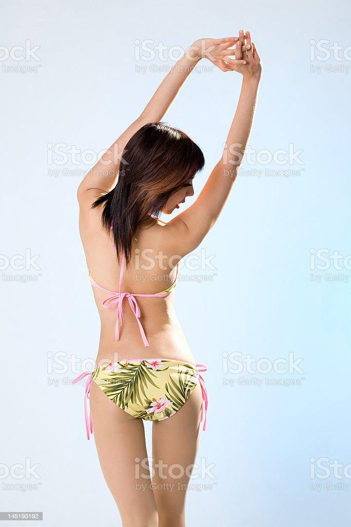 sexy back stock photo