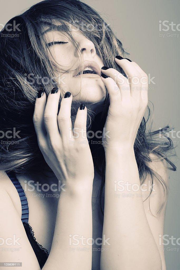 sexy beautiful woman stock photo
