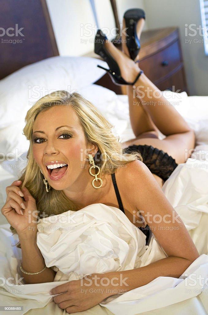 Sexy Bedtime royalty-free stock photo