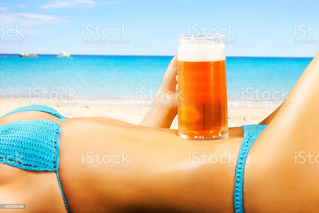 Sexy on the beach drink