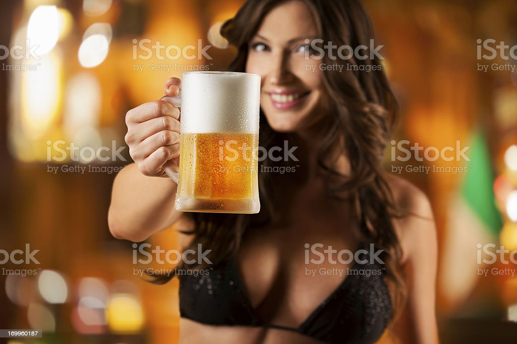 Sexy girls and beer