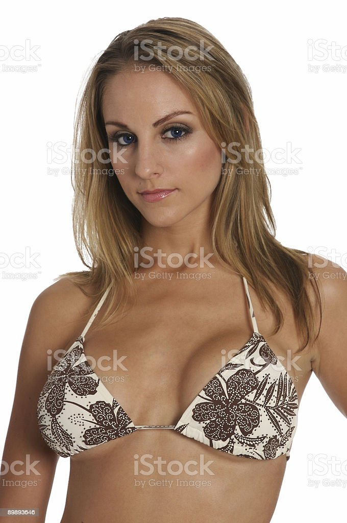 Sexy Bikini royalty-free stock photo