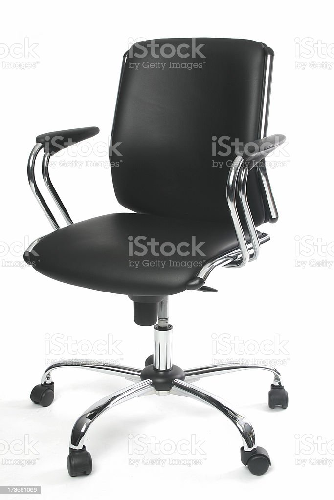 Sexy Black Chair 2 stock photo