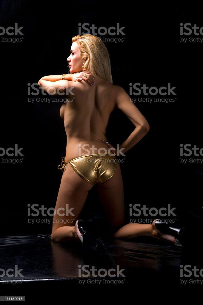 sexy blondie royalty-free stock photo
