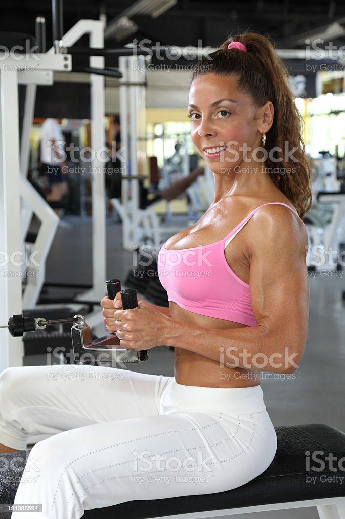 Sexy bodybuilding royalty-free stock photo