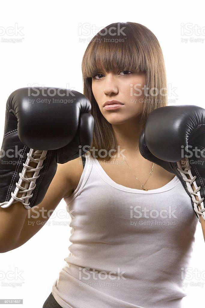 sexy boxer royalty-free stock photo