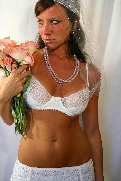 Sexy Bride stock photo