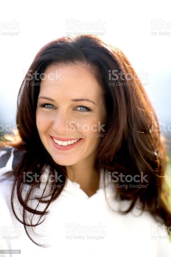 Sexy Brunette stock photo
