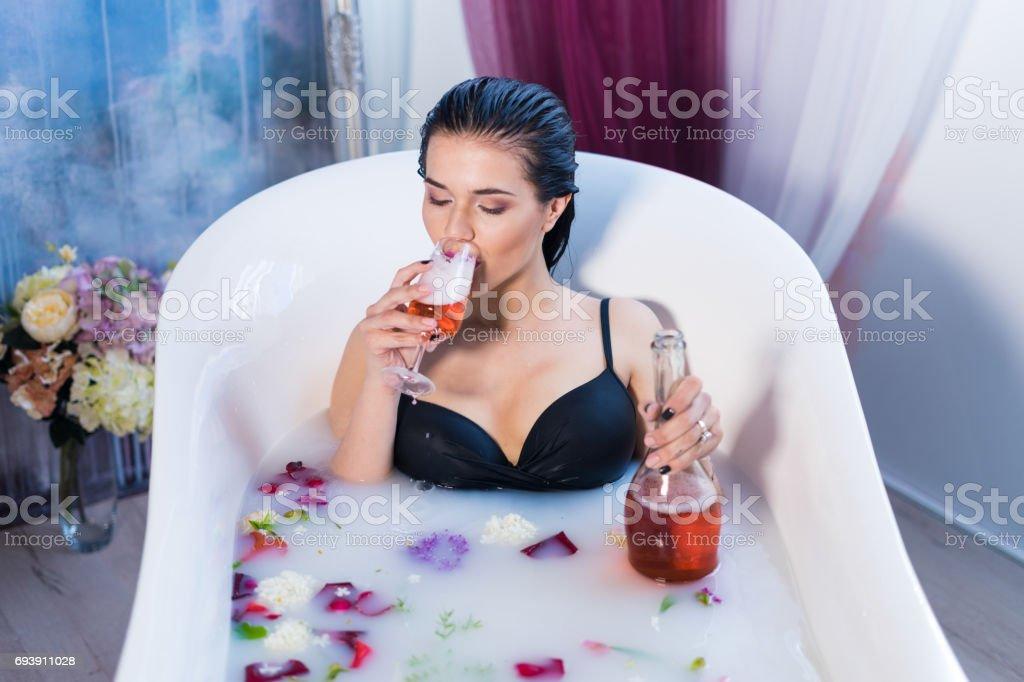 chaud Brunette sexe vidéo