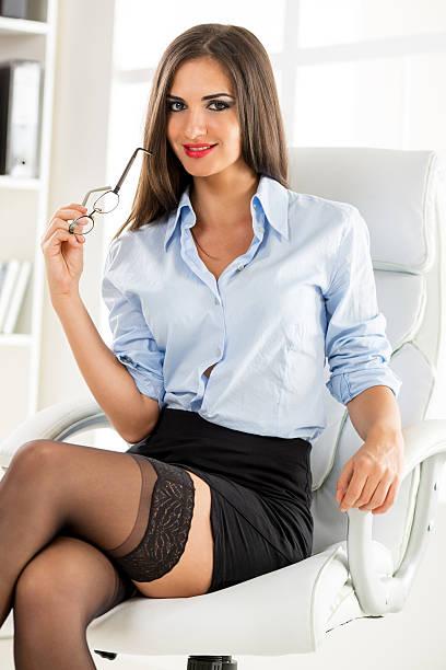 Sexy conselheiro empresarial - foto de acervo