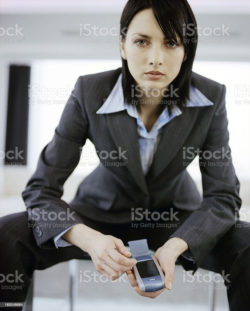 Sexy Business royalty-free stock photo