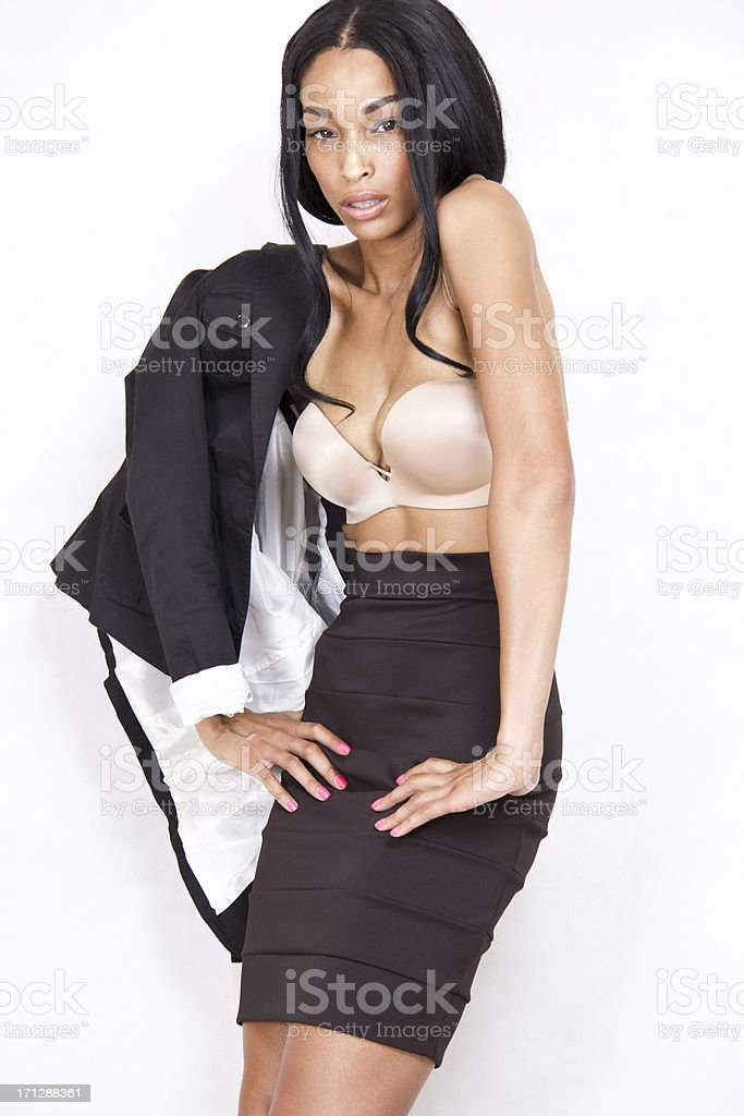 Sexy Business Woman stock photo