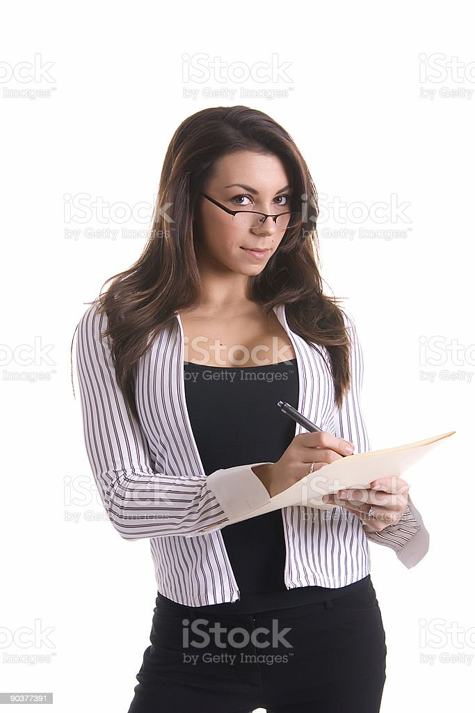 Sexy Business Woman royalty-free stock photo