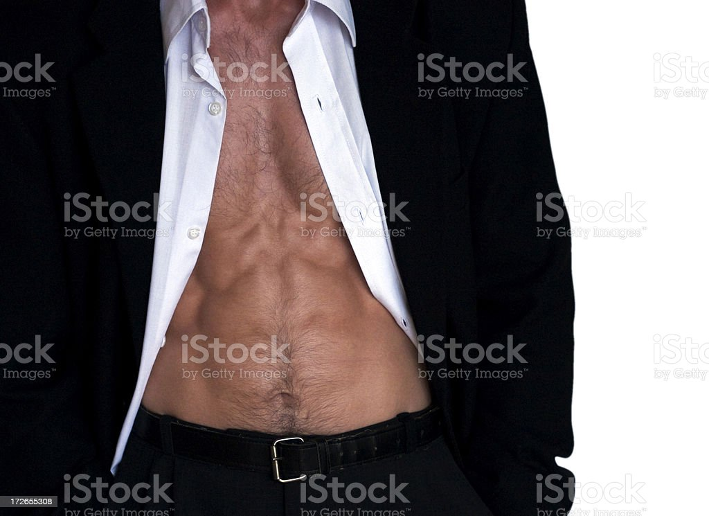 Sexy businessman stock photo