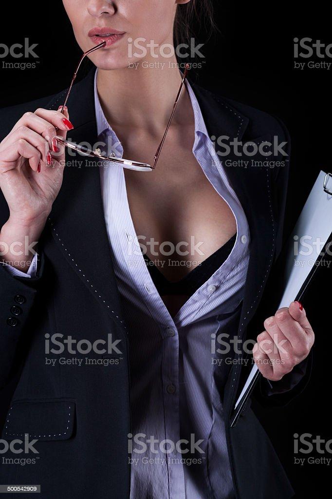 E Camicia Con Stock Donna Fotografie Sexy Daffari Sbottonata La mYb7vfI6yg