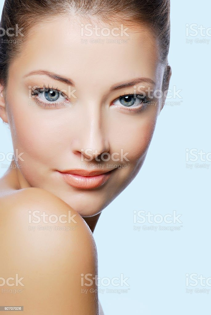 sexy caucasian woman royalty-free stock photo