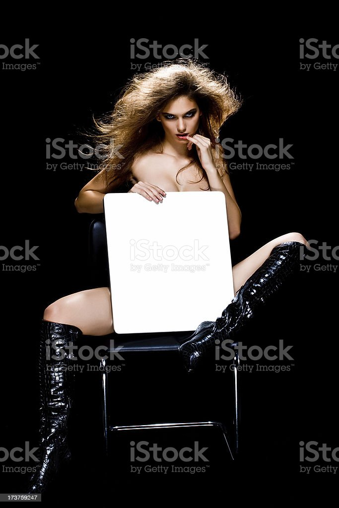 Sexy commercial space royalty-free stock photo