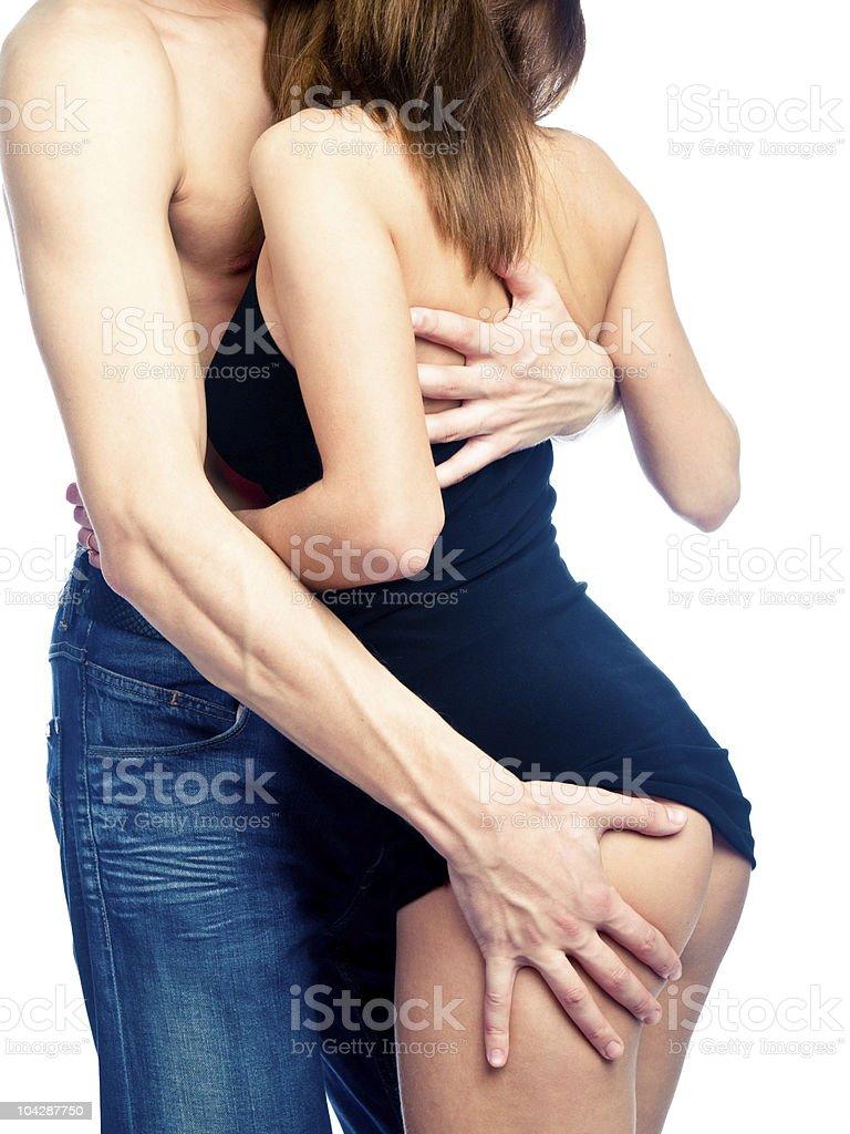 Sexy couple royalty-free stock photo