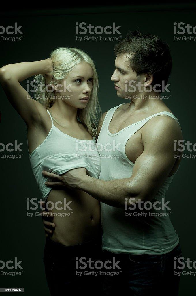 Jerking pics of sexy couple