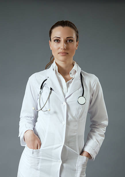Sexy doctor stock photo