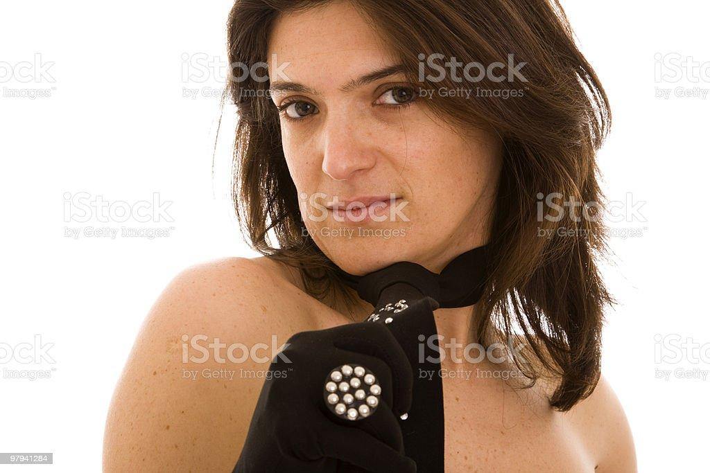 sexy elegant woman royalty-free stock photo